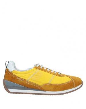 Кеды и кроссовки BRIMARTS. Цвет: охра