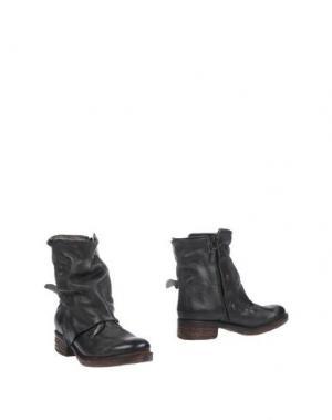 Полусапоги и высокие ботинки AIR STEP. Цвет: темно-зеленый