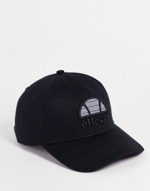 Черная кепка с логотипом Ellesse-Черный цвет ellesse