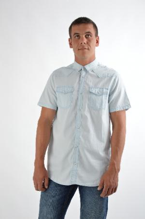 Рубашка Top Secret. Цвет: синий