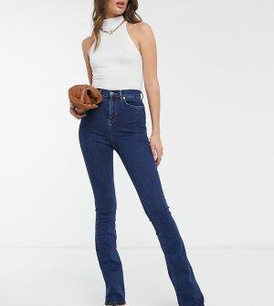 Расклешенные джинсы с моделирующим эффектом ASOS DESIGN Tall hourglass-Синий
