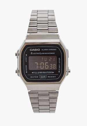 Часы Casio A168WEGG-1BEF, Collection. Цвет: серебряный