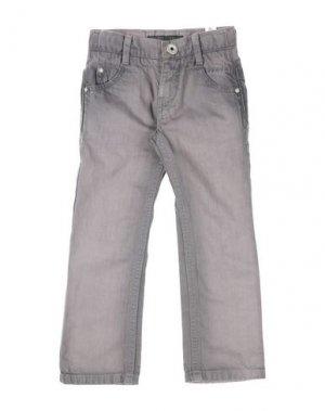 Джинсовые брюки IKKS. Цвет: свинцово-серый