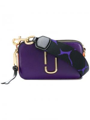 Небольшая сумка Snapshot Marc Jacobs. Цвет: фиолетовый