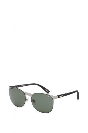Очки солнцезащитные Chopard. Цвет: серебряный
