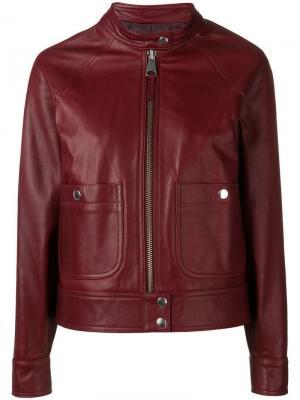 Куртка Anja A.P.C.. Цвет: красный