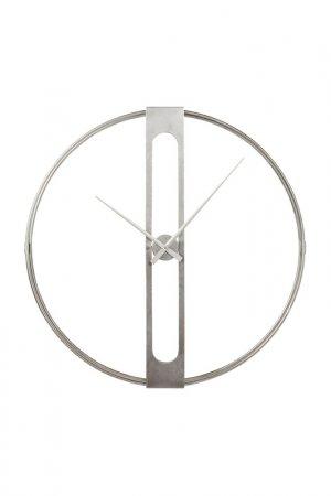 Часы настенные Clip O107 см Kare. Цвет: серебряный
