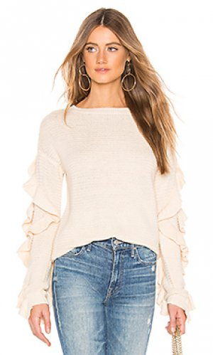 Пуловер torrance Tularosa. Цвет: кремовый