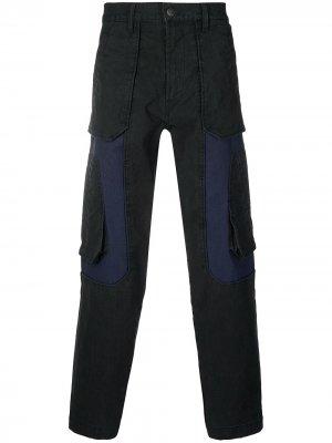 Straight - D-Eluxerr jeans Diesel. Цвет: черный