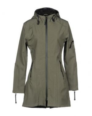 Куртка ILSE JACOBSEN. Цвет: зеленый-милитари