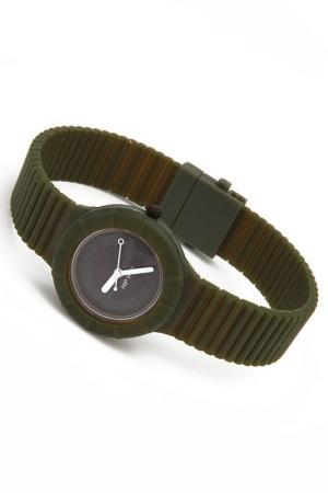 Кварцевые часы Hip Hop. Цвет: зеленый