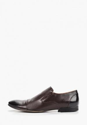 Лоферы Dino Ricci Select. Цвет: коричневый