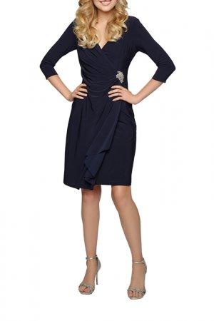 Платье из джерси Apart. Цвет: темно-синий