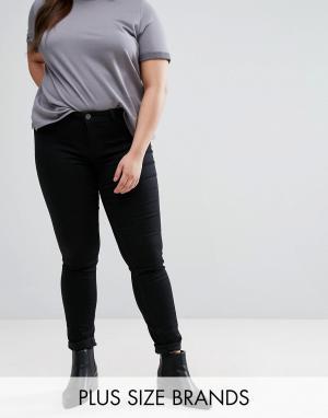 Черные джинсы скинни -Черный Junarose