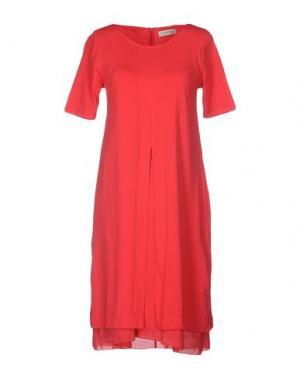 Короткое платье ALPHA STUDIO. Цвет: красный
