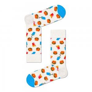 Hamburger Socks Happy. Цвет: белый