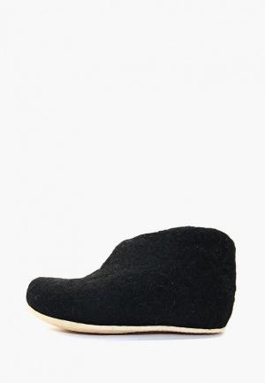 Тапочки Snegi. Цвет: черный