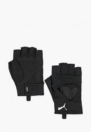 Перчатки для фитнеса PUMA TR Ess Gloves. Цвет: черный