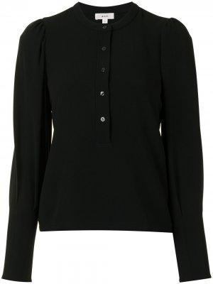 Блузка с воротником-стойкой и длинными рукавами A.L.C.. Цвет: черный