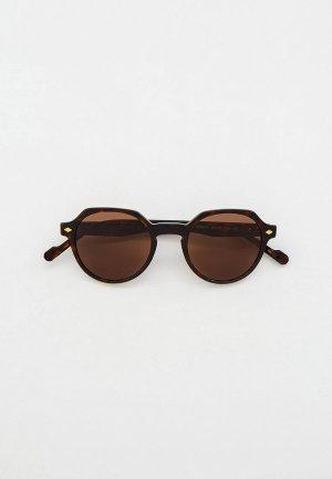Очки солнцезащитные Vogue® Eyewear VO5370S W65673. Цвет: коричневый