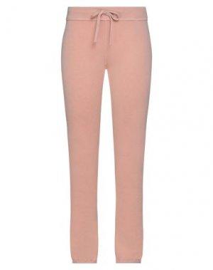 Повседневные брюки JAMES PERSE. Цвет: лососево-розовый