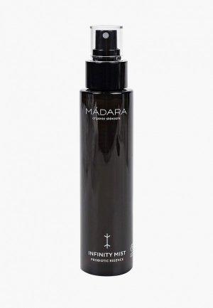 Спрей для лица Madara INFINITY с пробиотиками и гиалуроновой кислотой, 100 мл.. Цвет: прозрачный