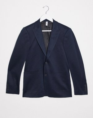 Темно-синий пиджак Only & Sons