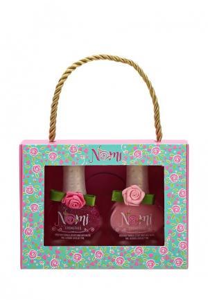 Набор лаков для ногтей Nomi №10 и №13. Цвет: розовый