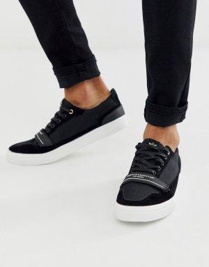 Черные кроссовки -Черный Creative Recreation