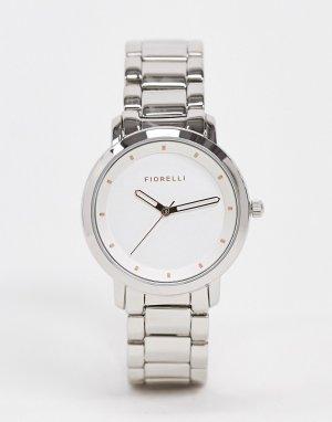 Серебристые часы -Серебряный Fiorelli