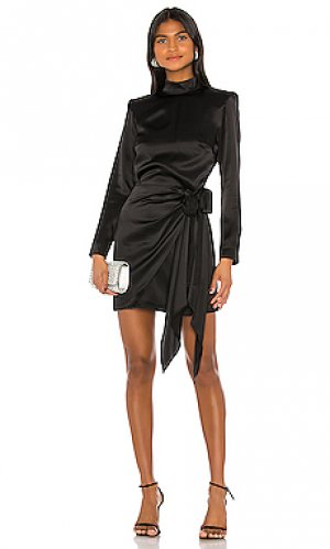 Мини платье devyn Amanda Uprichard. Цвет: черный