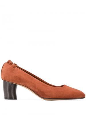 Замшевые туфли Michel Vivien. Цвет: коричневый
