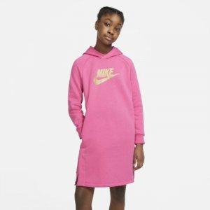 Платье-худи для девочек школьного возраста Sportswear Nike