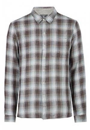 Рубашка JOHN VARVATOS. Цвет: серый