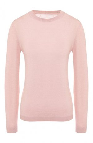 Пуловер из смеси шерсти и шелка REDVALENTINO. Цвет: розовый