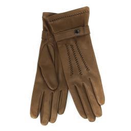 Перчатки RIC_CELINEOL серо-коричневый AGNELLE