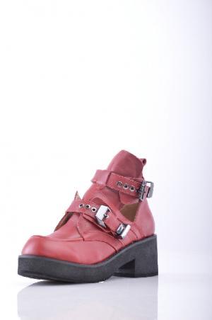 Ботинки JEFFREY CAMPBELL. Цвет: красно-коричневый