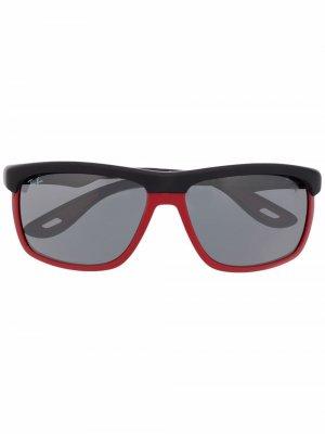 Солнцезащитные очки Scuderia Ferrari Ray-Ban. Цвет: черный