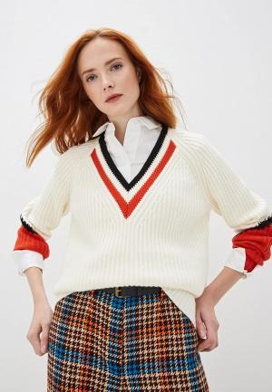 Пуловер Escada Sport. Цвет: белый