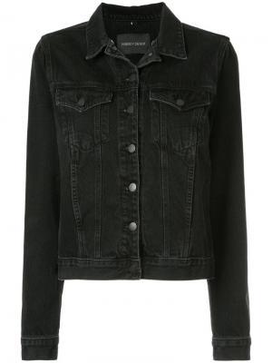 Джинсовая куртка Nobody Denim. Цвет: черный