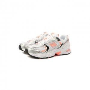 Комбинированные кроссовки 530 New Balance. Цвет: оранжевый