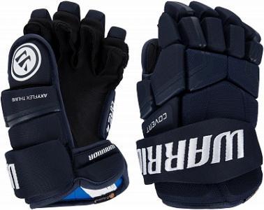 Перчатки хоккейные детские WARRIOR Covert QRE4. Цвет: синий