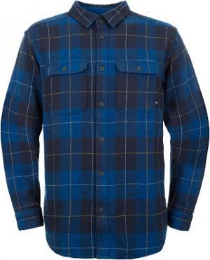 Рубашка с длинным рукавом мужская Walcott, размер 50 Mountain Hardwear. Цвет: синий