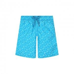 Плавки-шорты Vilebrequin. Цвет: синий