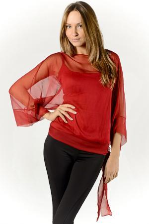 Блуза Analili. Цвет: красный