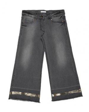 Джинсовые брюки ELSY. Цвет: серый