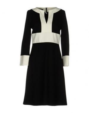 Короткое платье GIO' GUERRERI. Цвет: черный