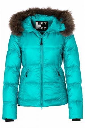 Куртка Jet Set. Цвет: голубой