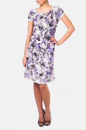 Юбка Philippe Carat. Цвет: фиолетовый
