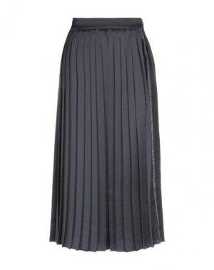 Длинная юбка OFF-WHITE™. Цвет: черный
